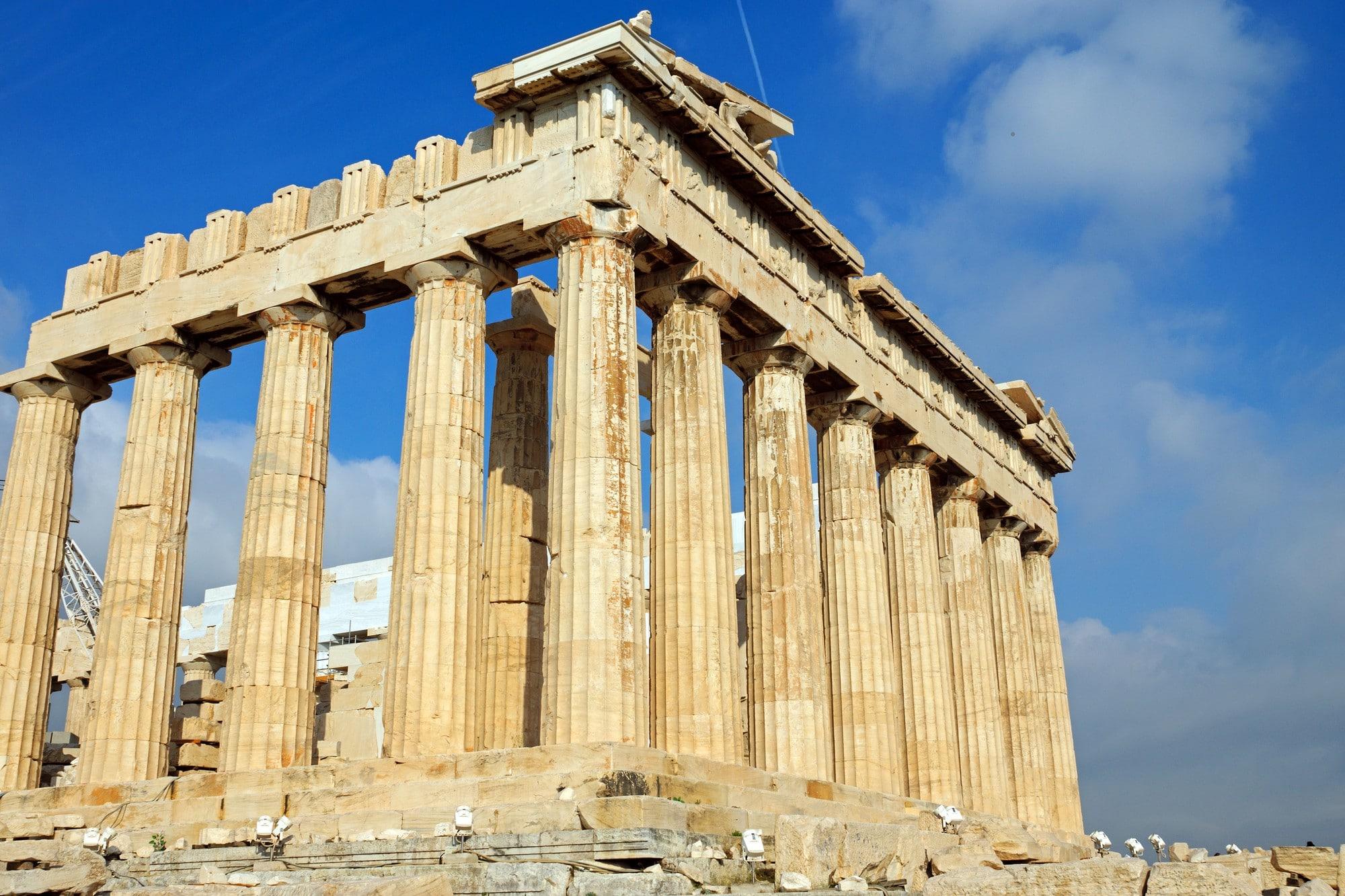Parthenon en journée