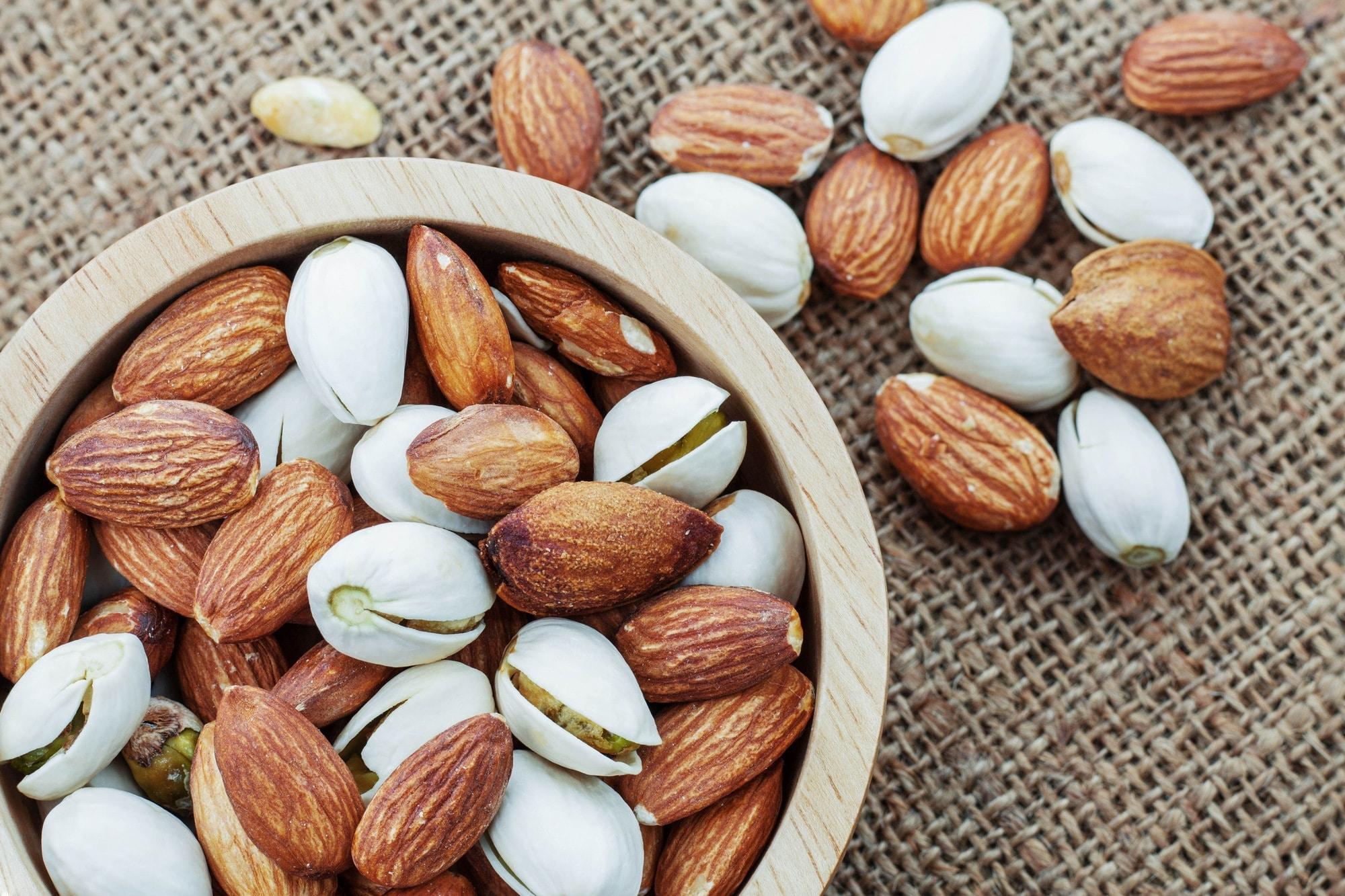 amandes et pistaches